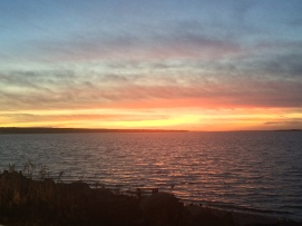 Sunset in Sag Harbor 2 Thanksgiving 2015