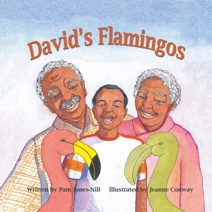 Cover David's Flamingos