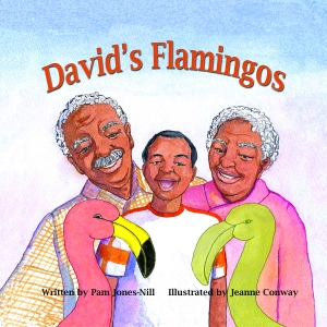 Cover David's Flamingos